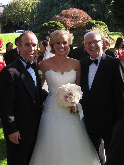 Scott, Rebecca and the celebrant