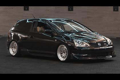 Honda Civic 2005 Modified Black