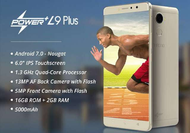 L9 Plus: Tecno First Smartphone with Android 7.0 Nougat Launched