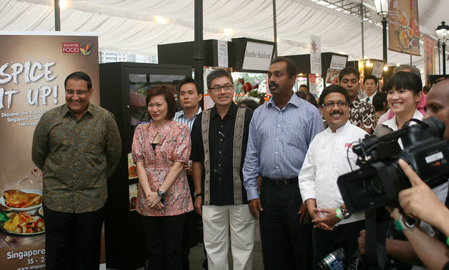 Guest of honour Mr S. Iswaran along with other VIPs
