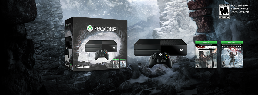 Rise of the Tomb Raider Xbox One Bundle