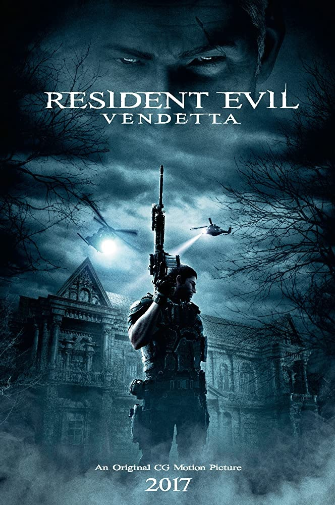Download Resident Evil: Vendetta (2017) in Hindi Unrated Dual Audio BluRay 480p 720p HD Fully Download Movies