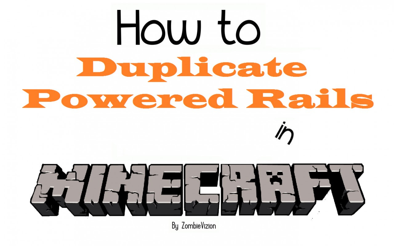 How to Get Infinite Powered Rails in Minecraft 1.1 ...