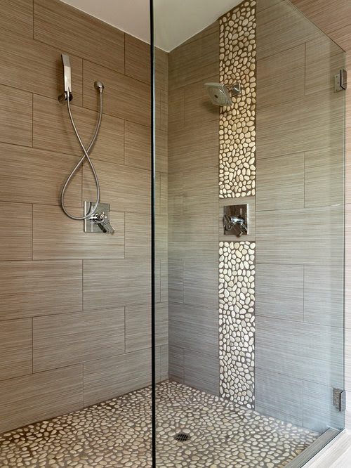 Bathroom Design Ideas, Renovations & Photos with Pebble ...