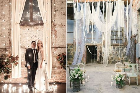 7 wedding ceremony backdrops that wow