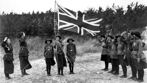 (Image 1) The Girl Guides 1910