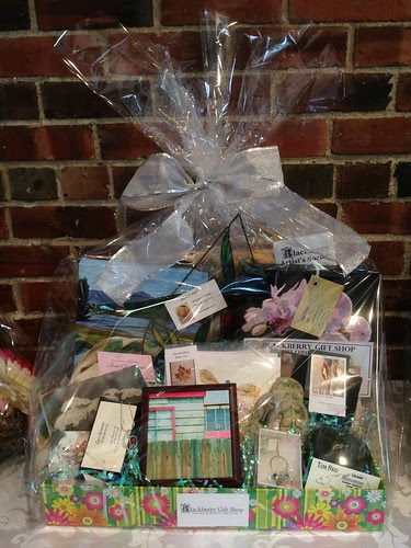 Girls Night Out basket from Blackberry Artists
