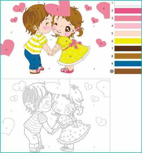 Free Paint by Numbers templates for adults - About ...