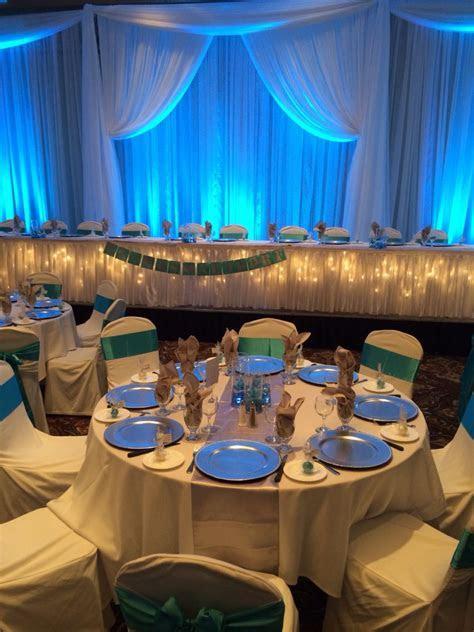 Teal Wedding Reception #teal #wedding #reception #
