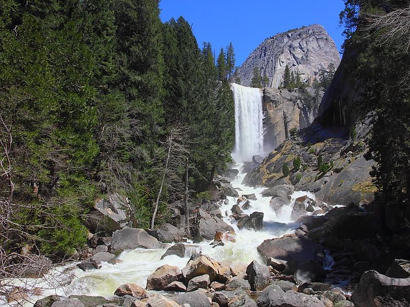 IMG_7887 Vernal Falls, Yosemite National Park