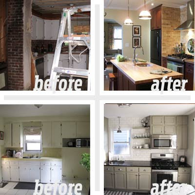 The Hub of the Home  Best Kitchen Before and Afters 2011