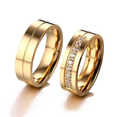 Aliexpress.com : Buy H:HYDE Trendy Lovers Wedding Bands