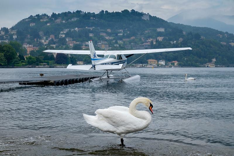 In Memoriam C172 I-SIPI - Aero Club Como, Italy