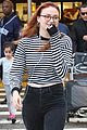 sophie turner debuts red hair in LA 05