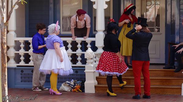Disneyland, Main Street U.S.A., Dapper Day, CosPlay