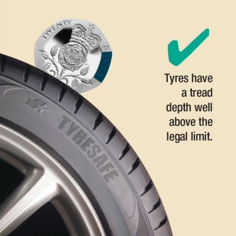 Tyre Safety Tyresafe Promoting Uk Tyre Safety And Driver Awareness