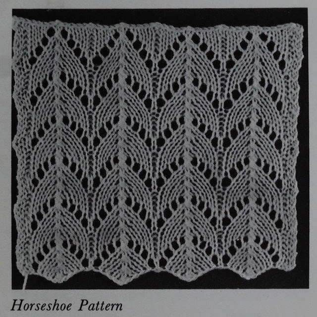Horseshoe Knitting Pattern