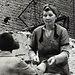 In the chaos of Berlin in 1945, women cleared away rubble.