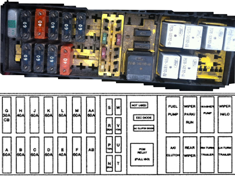 98 Ford Windstar Fuse Box Diagram