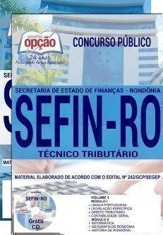 Apostila Concurso SEFIN RO 2018 | TÉCNICO TRIBUTÁRIO