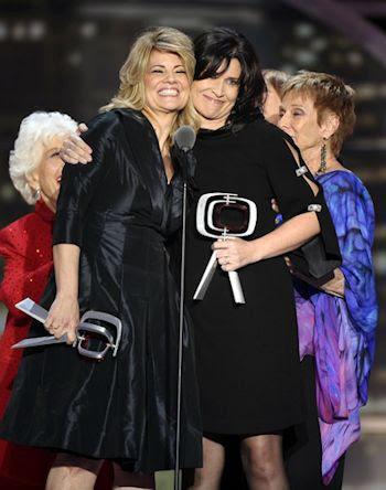 Lisa Whelchel and Nancy McKeon 2011 TV Land Awards