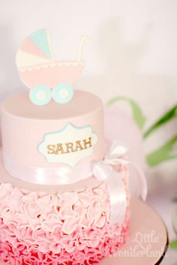 Wedding Theme Pretty In Pink Baby Shower Party Ideas 2321091