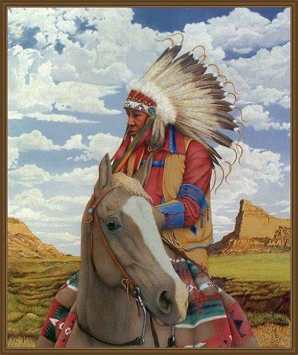 Indianer Bild - Animaatjes indianen 41052