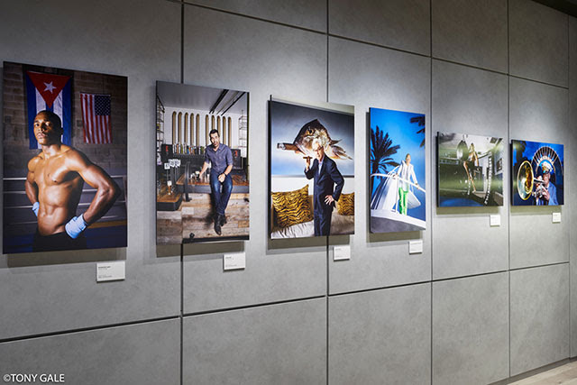 Brian Smith Heads and Tales Celebrity Portrait Photography Exhibit at Sony Square NYC