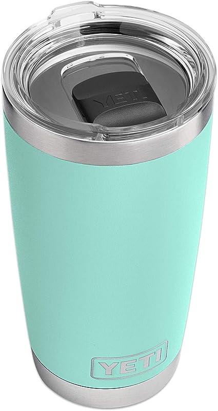 Thermos Cup - YETI Rambler 20 oz Tumbler, Stainless Steel