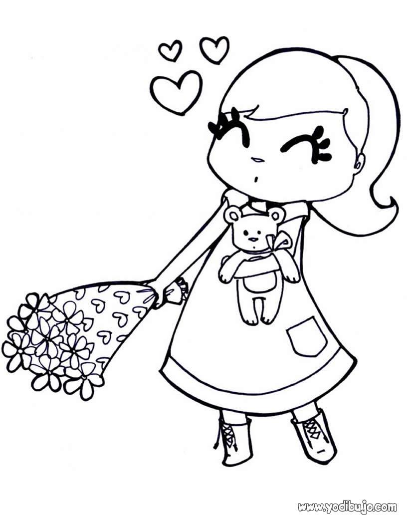Dibujos Para Colorear San Valentín Corazon Eshellokidscom