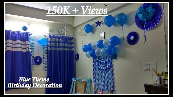 50 Stunning Blue Themed Birthday Party Ideas
