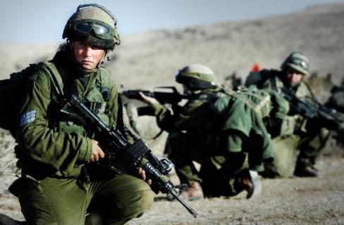 Israel women soldier