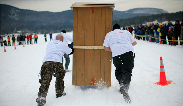outhouse1 articleLarge Top 10 Oddest Sport Photos of All Time