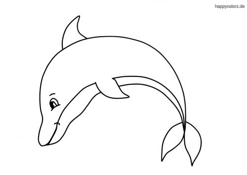delfine bilder zum ausmalen  ausmalbilder