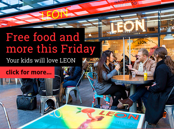 Free food and more this Friday. Your kids will love LEON