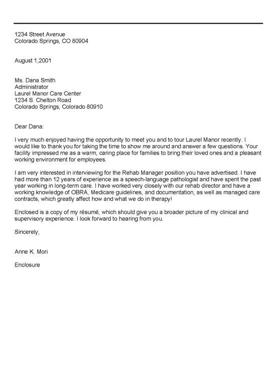 sample letter of thank you for good service