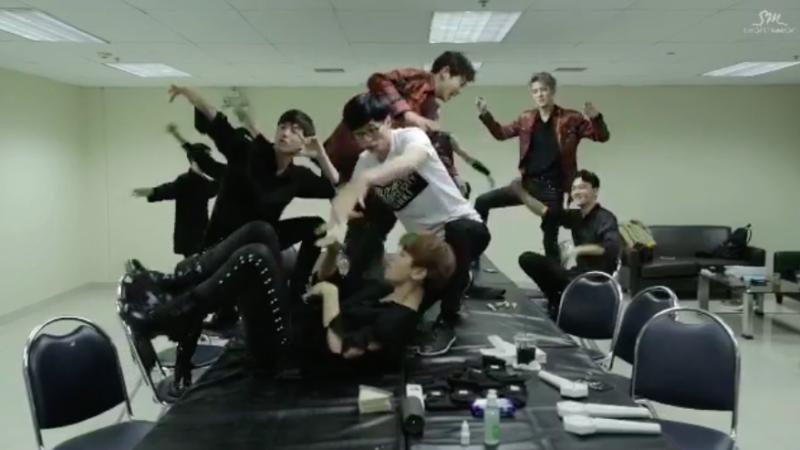 """EXO y Yoo Jae Suk actúan de forma tonta en el nuevo teaser de SM STATION para """"Dancing King"""""""