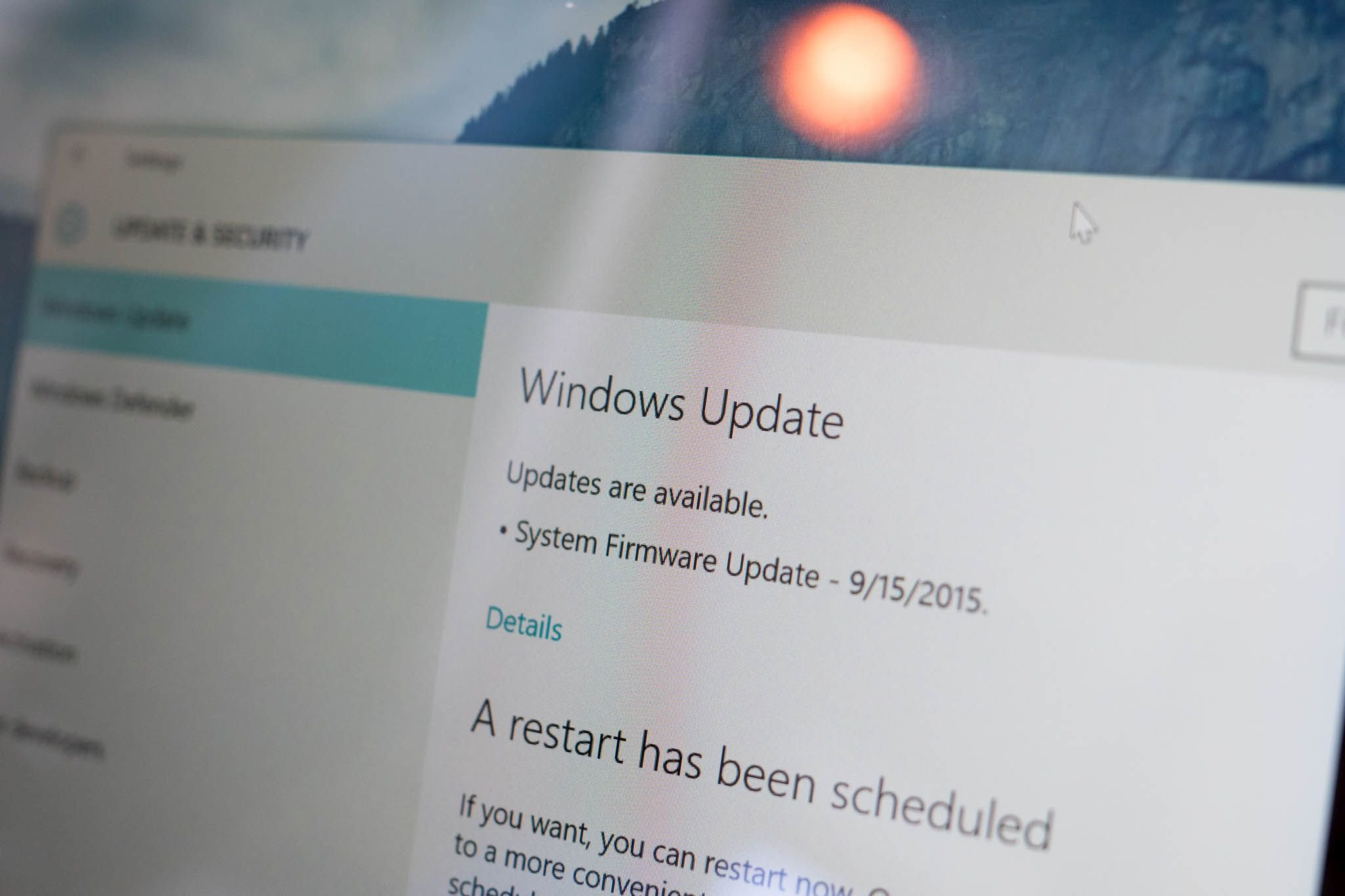 Surface Pro 3 update