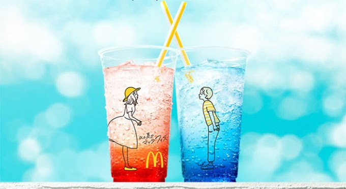 McDonald's Japan Accidentally Creates Inappropriate Cups, and folks area unit Lovin' It