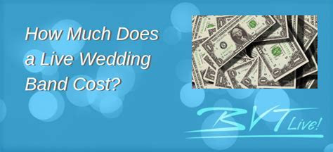 How Much Does a Live Wedding Band Cost   How to Get the