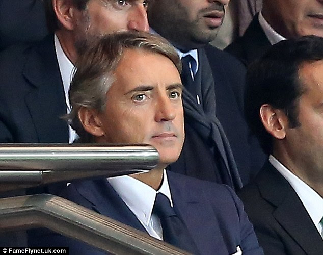 Sorted: Roberto Mancini is in Turkey completing negotiations over a three-year deal at Galatasary