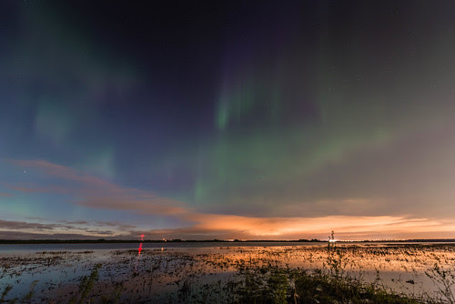 Aurora over Big Lake