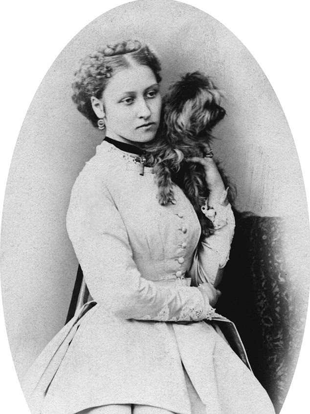 Ravishing: Princess Louise was the fourth daughter and sixth child of Queen Victoria and Prince Albert