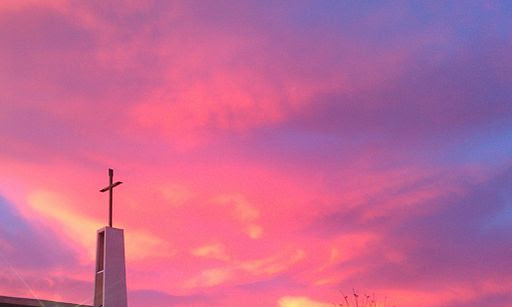 Beautiful sky at LUMC
