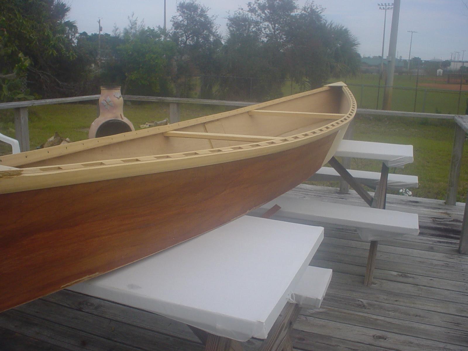 Revisiting an Old Friend – Home built Wooden Pirogue (Cheap Canoe