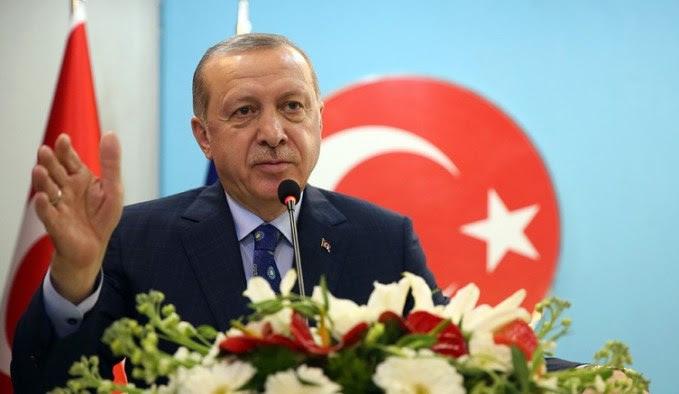 Ο Τούρκος πρόεδρος Ερντογάν. Φωτογραφία via Τουρκική Προεδρία.