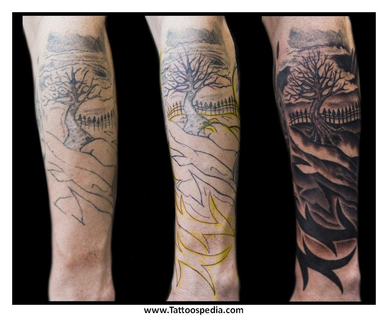 Tattoo Cover Up Forearm 2