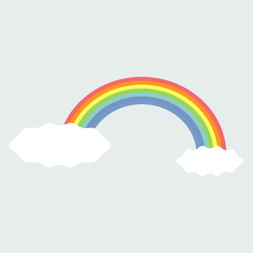 虹のイラスト ただ絵net 無料商用可aiファイルも
