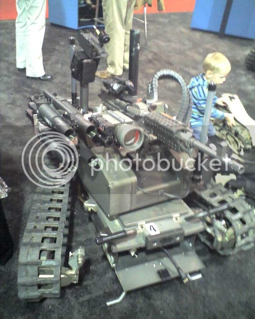 Quad M203 robot