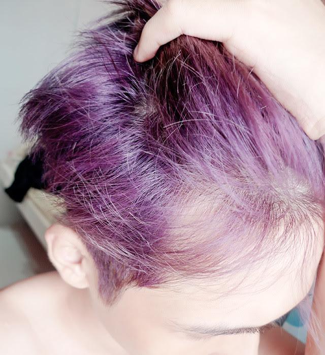 typicalben mauve purple colour hair
